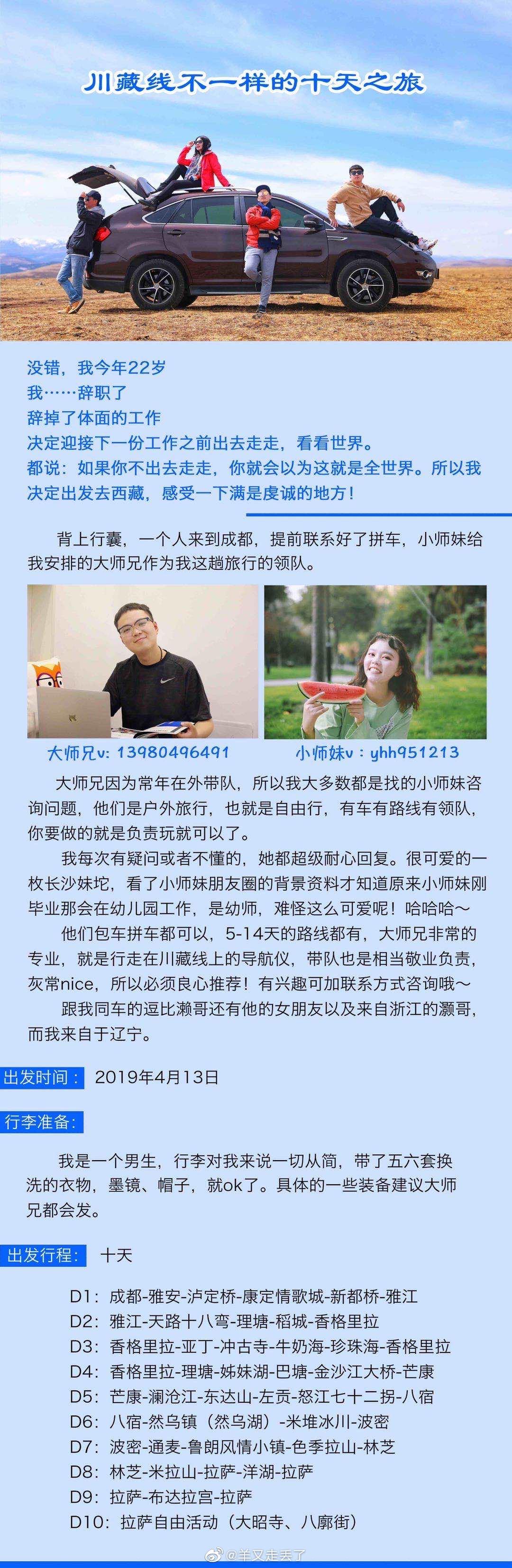 稻城亚丁➕西藏旅行攻略,来自辽宁帅气的小哥哥写的