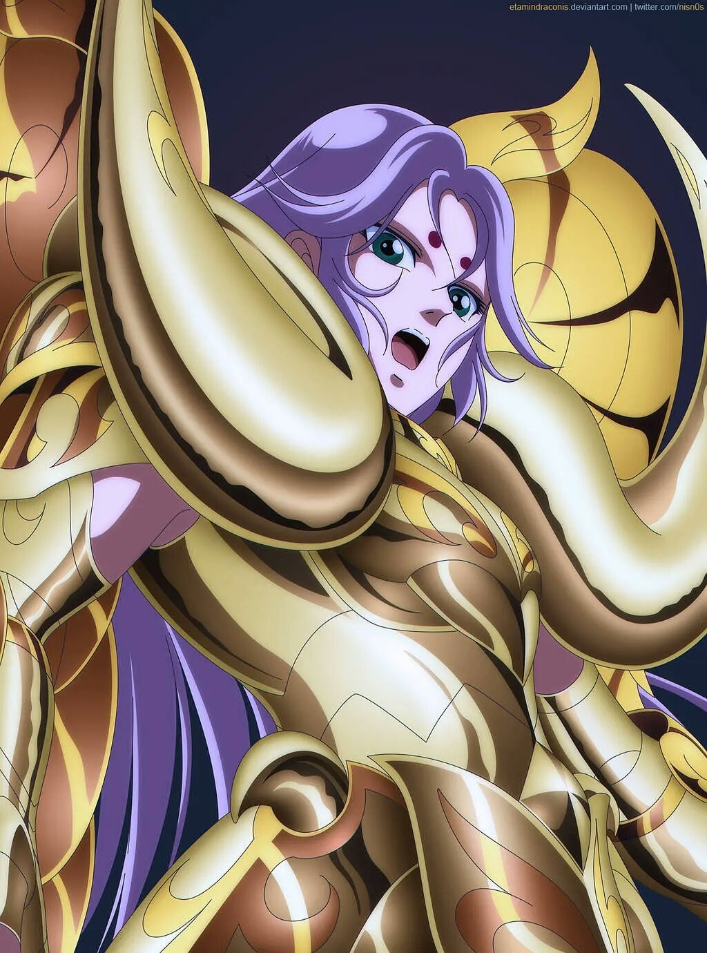 黄金魂的意志!十二位黄金神圣衣黄金圣斗士!