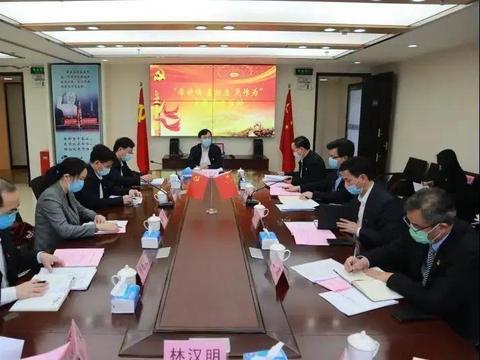 四个支部联合举行主题党日活动 陈旭东参加