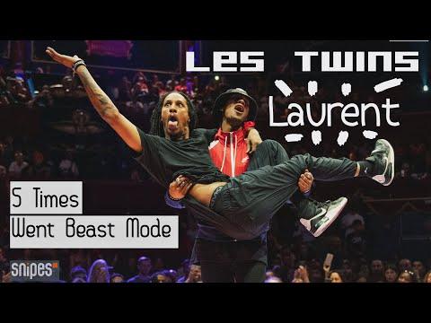 地表最强Hiphop双胞胎Les Twins成员Laurent超炸个人集锦