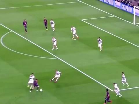 梅西不应该踢足球,太欺负人了,降维打击