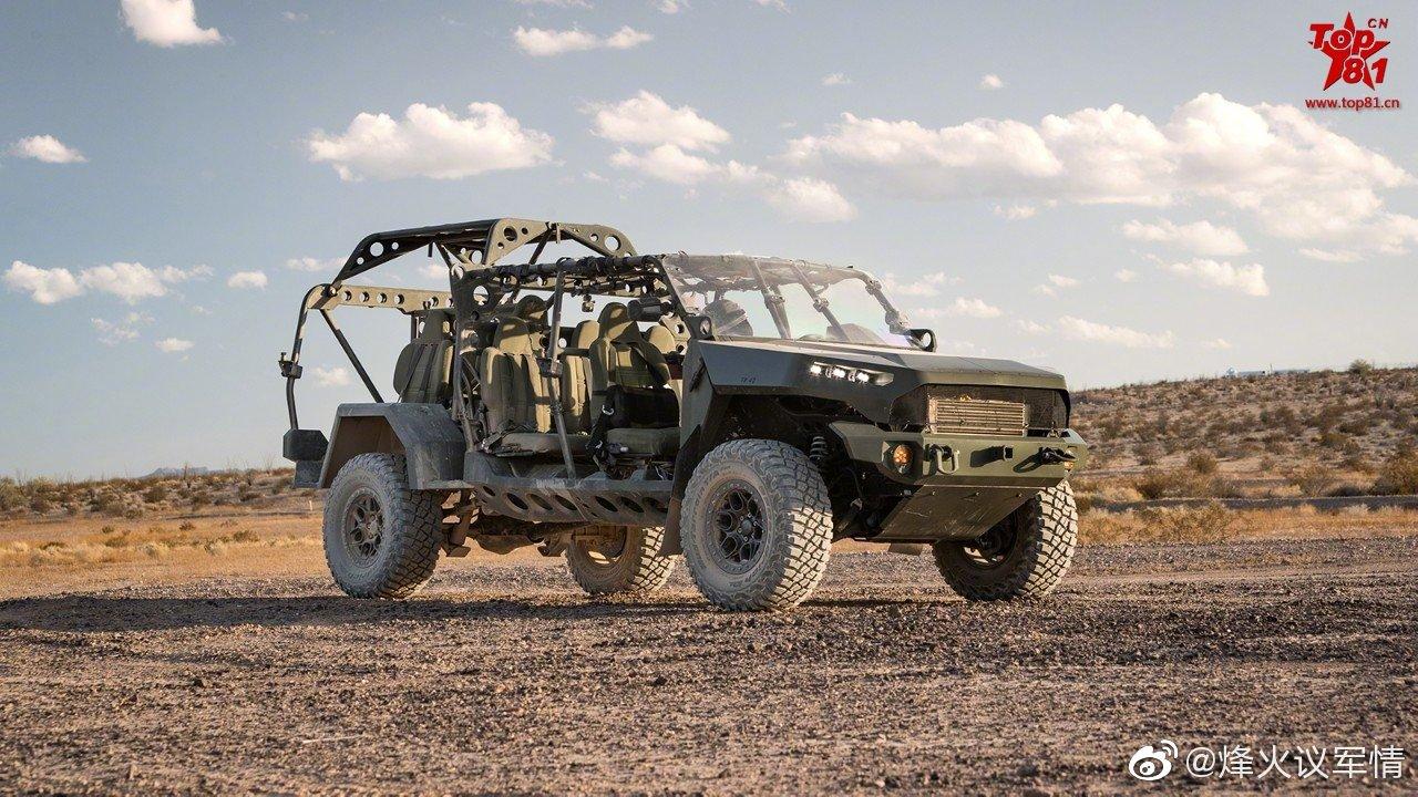 美国陆军订购649辆通用汽车公司生产的空降兵班用突击车(ISV)