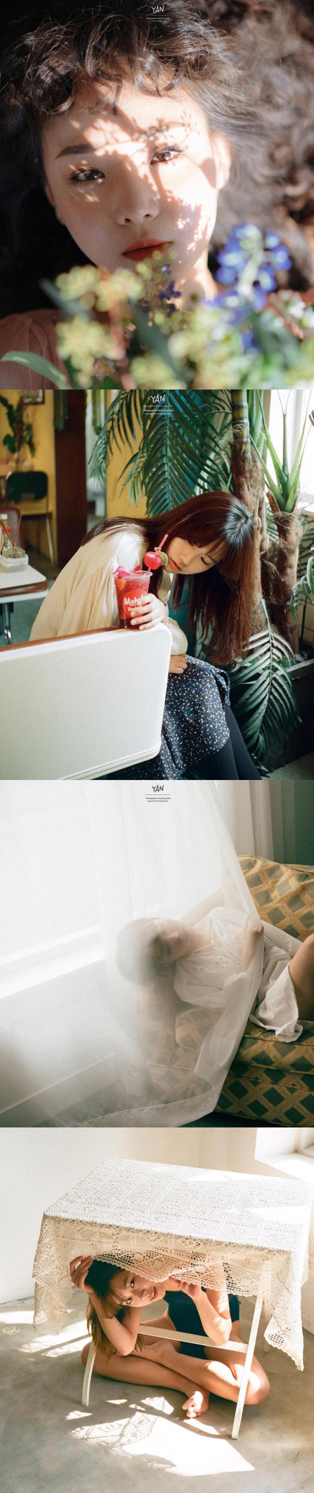 韩国摄影师yan镜头下的少女们