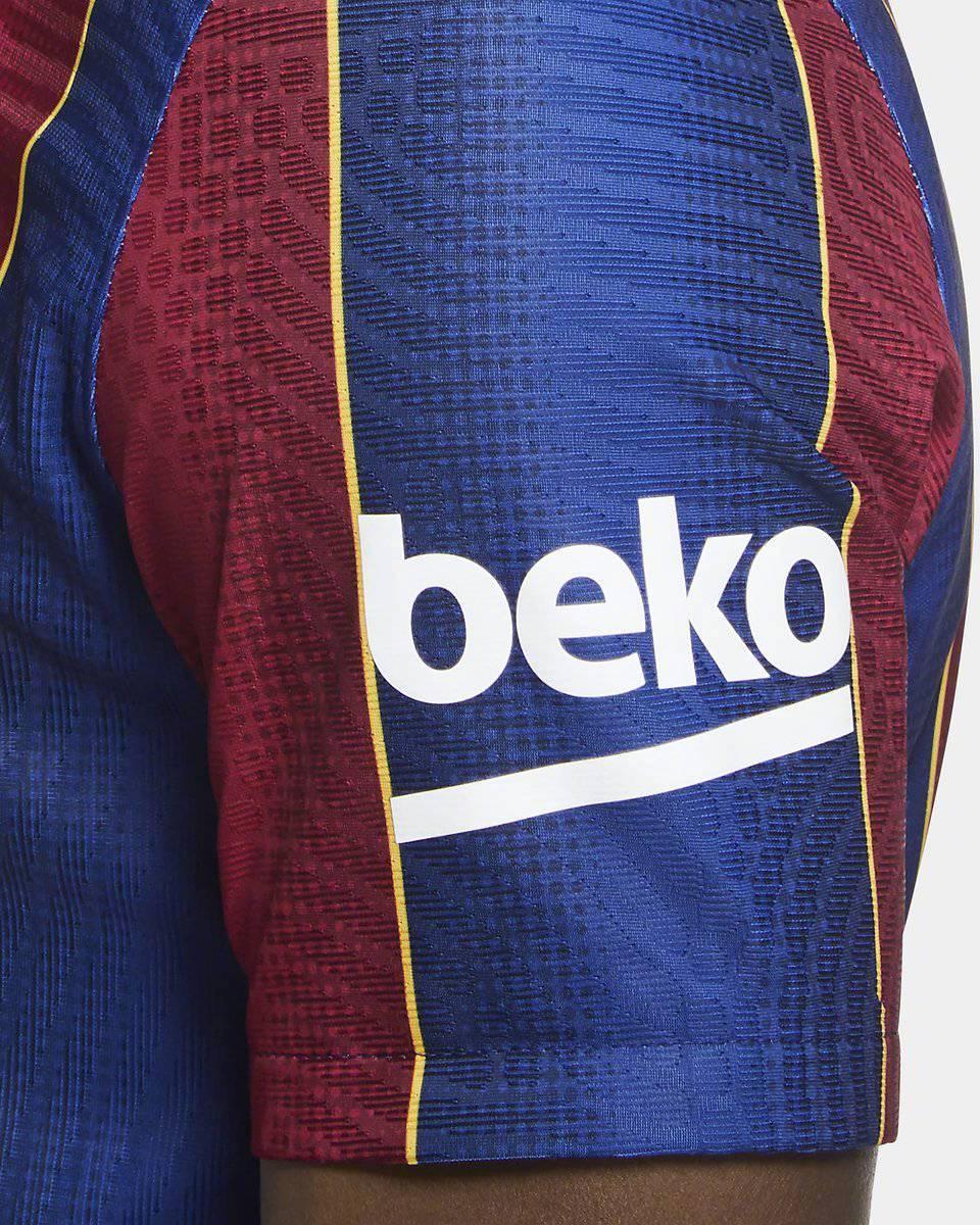 瑞典耐克网站泄露了巴萨下赛季球衣正式照片。