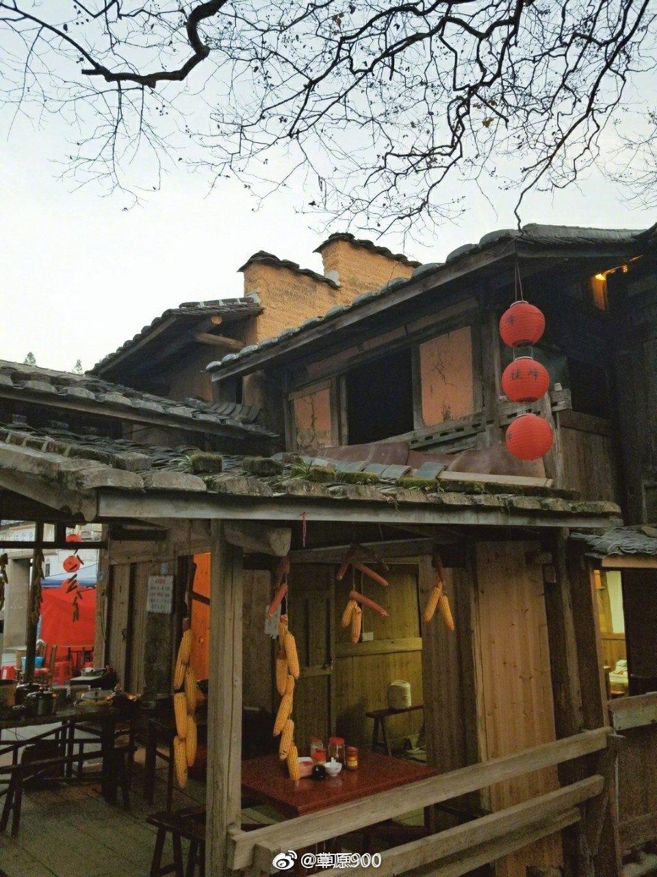 福建省尤溪县桂峰村历史悠久,群山环抱,云雾萦绕,山青水秀
