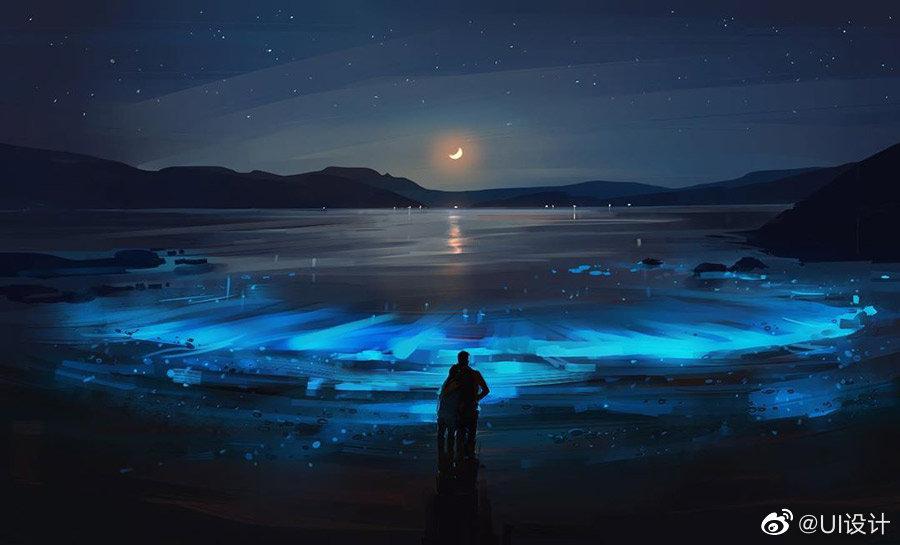 插画师 Alena Aenami 奇幻的色彩景观插画