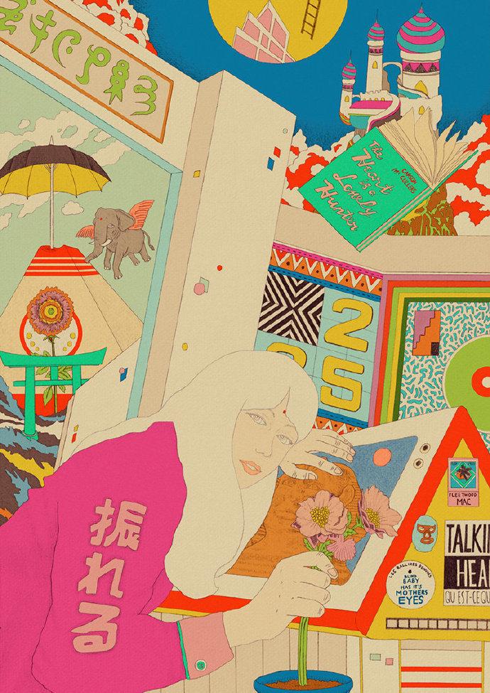 印尼插画师ARDNEKS PARAiSO GRAFiCA