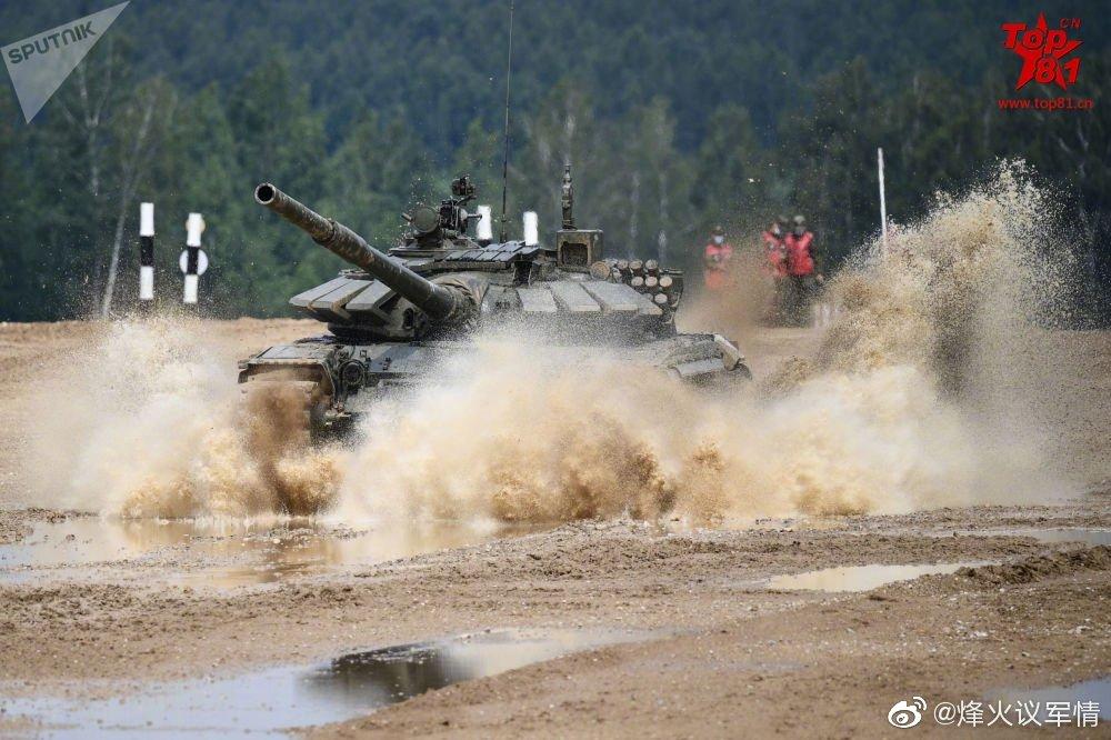 2020坦克两项赛预热:莫斯科州举行竞速赛