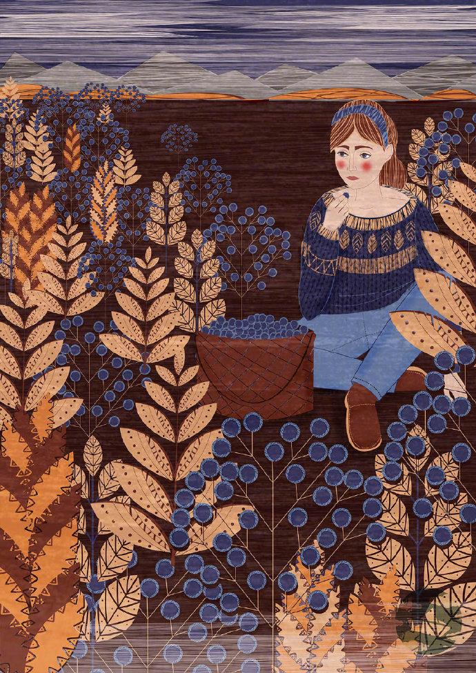 插画师 Lidia Tomashevskaya的童话世界