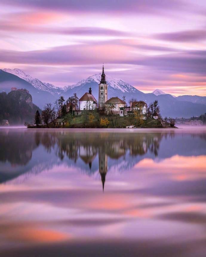 中欧南部的斯洛文尼亚,一个天使般的国家~~