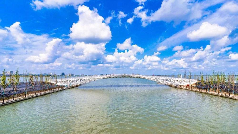 滴水湖环湖景观带7座桥征名揭晓啦→