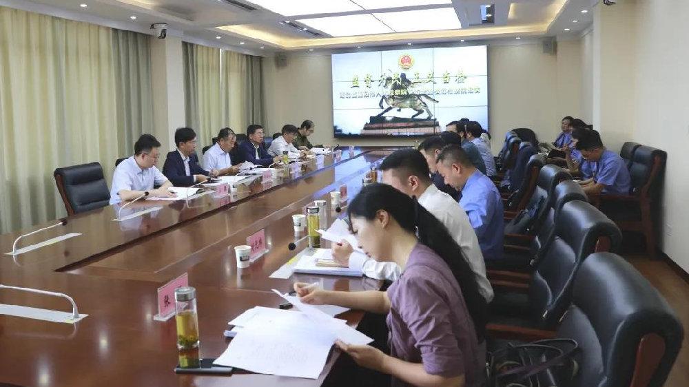 最高检专委张志杰、湖北省检察院检察长王晋到当阳调研