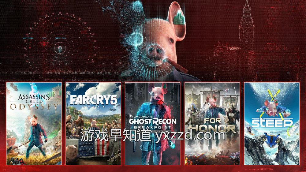 Xbox《看门狗:军团》预热活动开启 育碧旗下作品联动促销
