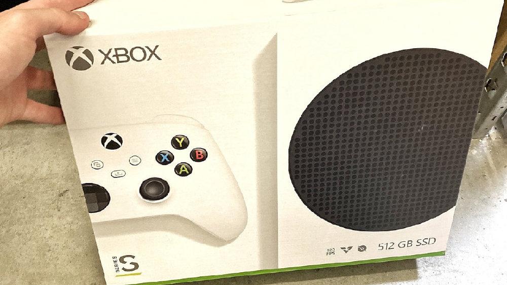 Xbox Series S实物零售版包装首度曝光