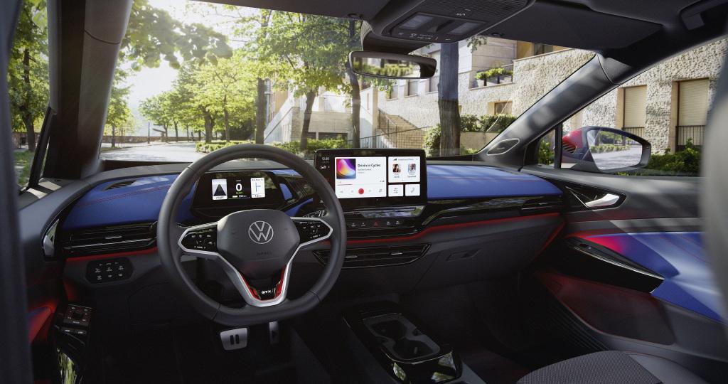 纯电运动型车,大众正式发布ID.4 GTX