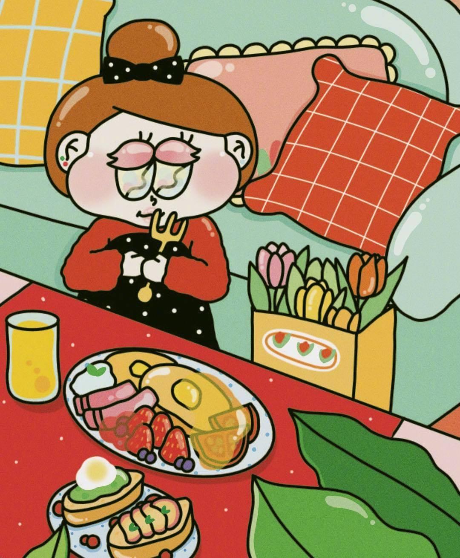 假期里吃零食吃不停的日常🍟🍿️ins:jelly_land_192