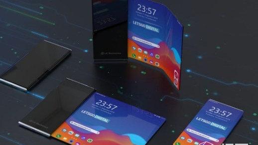 LG折叠屏手机专利曝光!采用可卷折设计,打开即是笔记本电脑