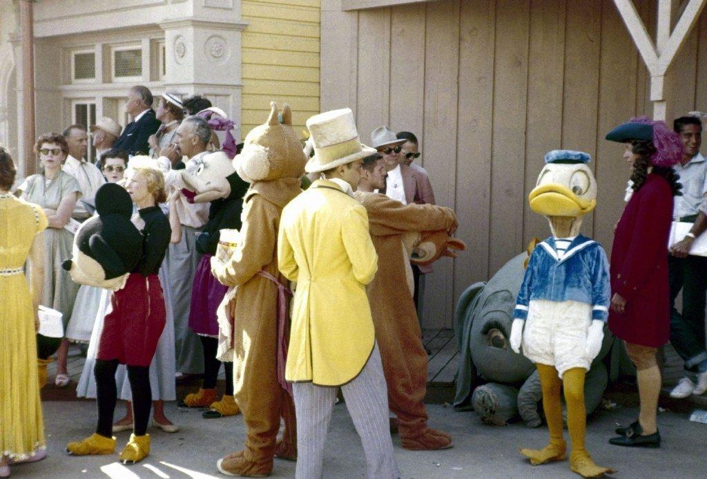 1955年,加州迪士尼乐园开放首日