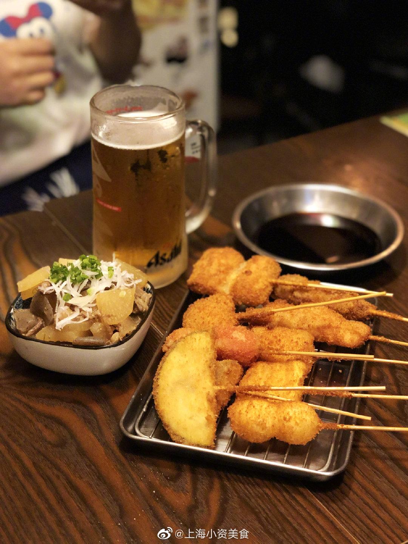 日式炸串小馆,嘬一口啤酒这是什么神仙日子