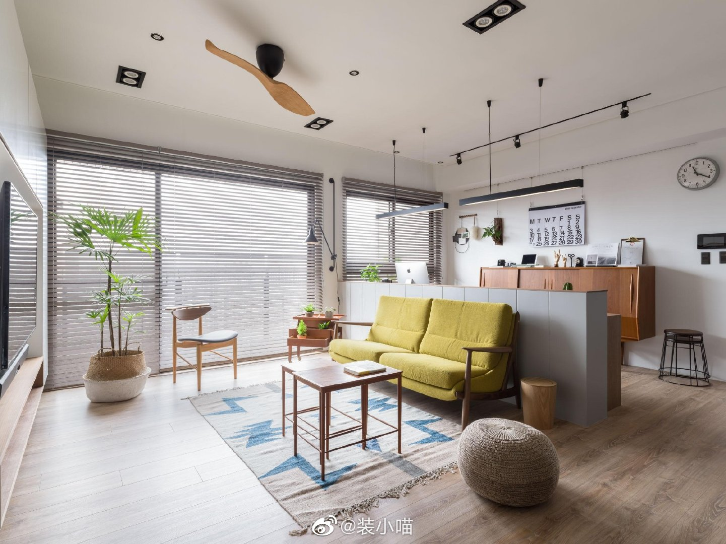🌳 北欧风住宅,阳光慢慢,简洁自然,舒服!