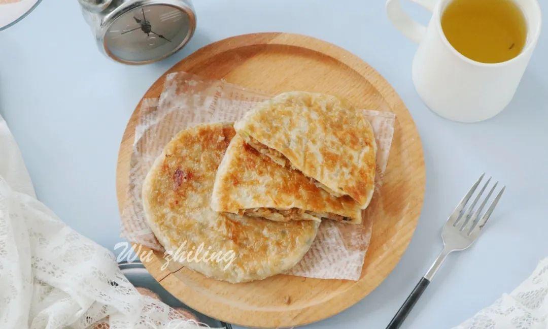 不用揉面,香酥有层次,这样的懒人早餐饼,吃过都喜欢