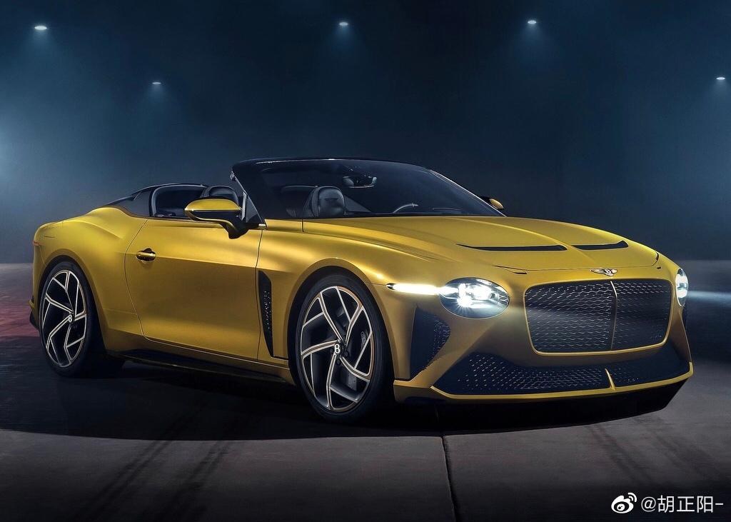 EXP 100 GT概念车的量产版本来了:宾利Mulliner Bacalar