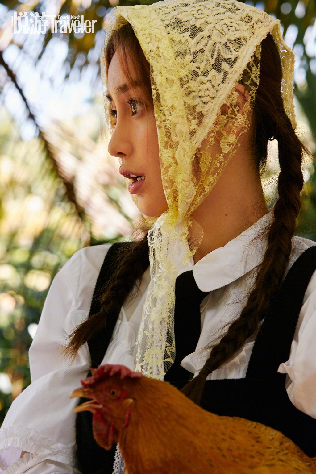 """angelababy悦游九月刊的""""海岛日记"""",在海南的生活体验"""