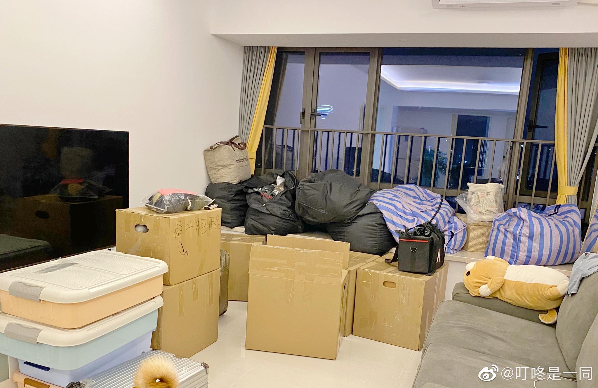 搬家可以列入人生最艰难的事之一