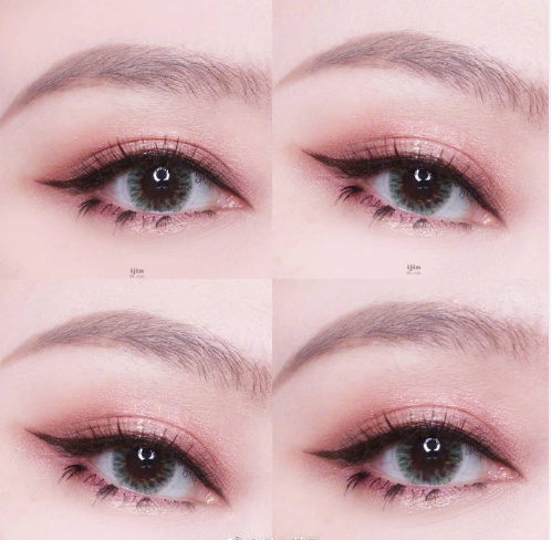 夏天的眼妆当然要bling bling~  眼影和瞳色的搭配也是一门学问哦!