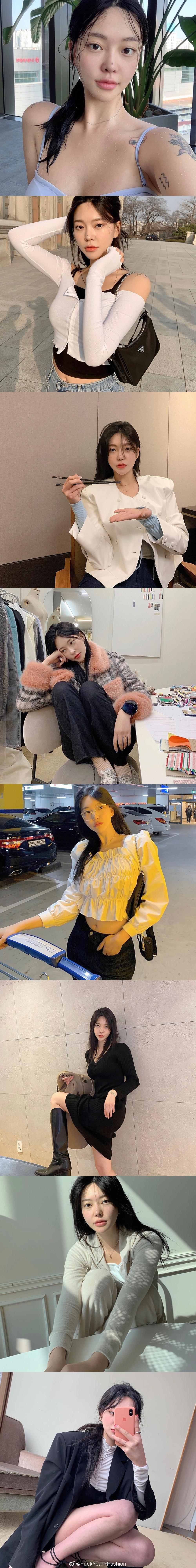 Bemyoung - 韩国博主日常私服合集~☁️