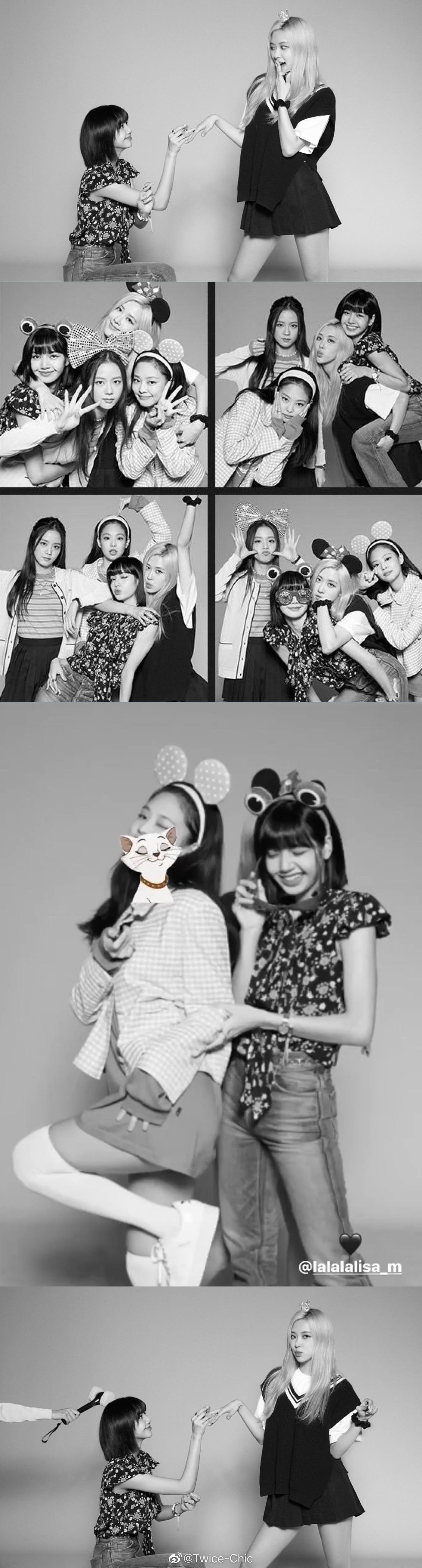 BLACKPINK Girl's Day 姜涩琪 崔秀英 金泫雅&金晓钟 李先彬 丁海寅