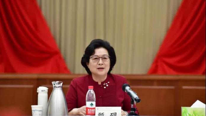 全国妇联原副主席甄砚的新职务