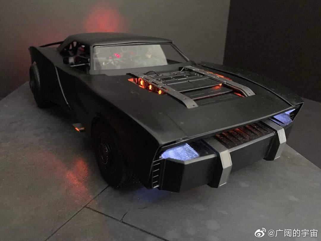 的蝙蝠车 概念模型图By Jeff Frost