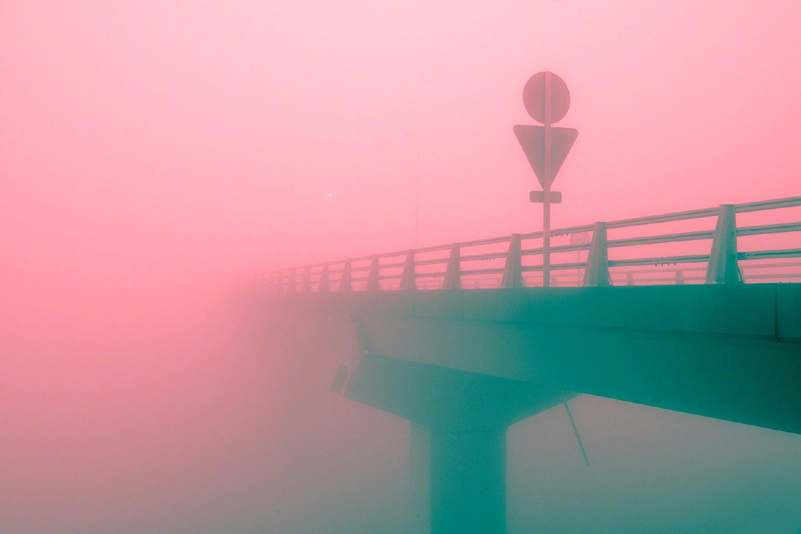 粉色秘境。