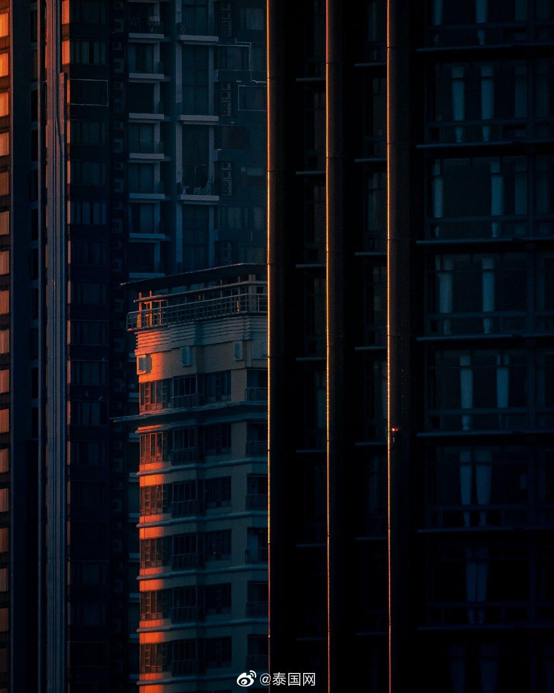 曼谷 天黑的前一刻(cr.donamtykl_)