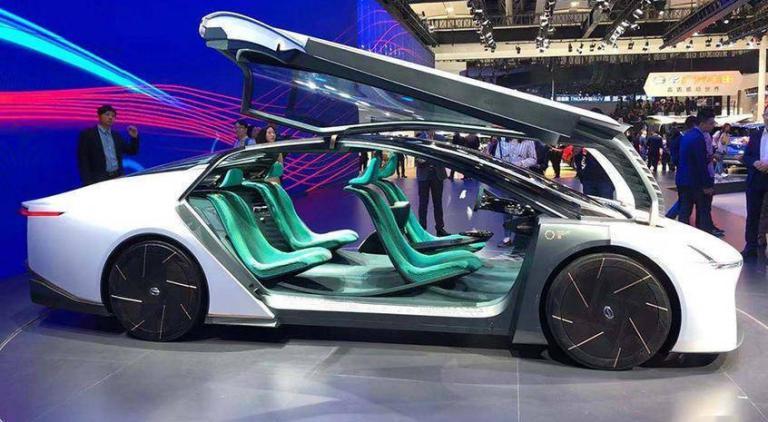 概念变现,天生惊艳,全球最低风阻概念车将实现量产