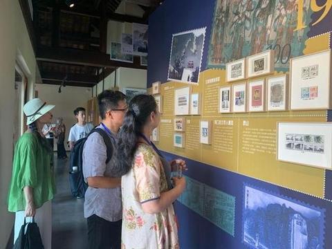 中国世界遗产主题邮展在良渚古城遗址公园开幕