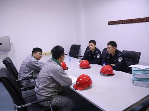 辽东湾新区公安分局确保辖区社会治安稳定,深入排查危爆隐患