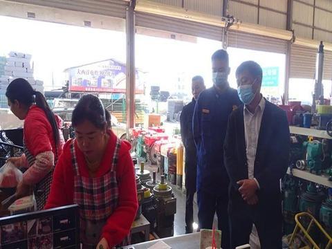 【保山腾冲消防】深入东盈商贸有限公司开展联合检查