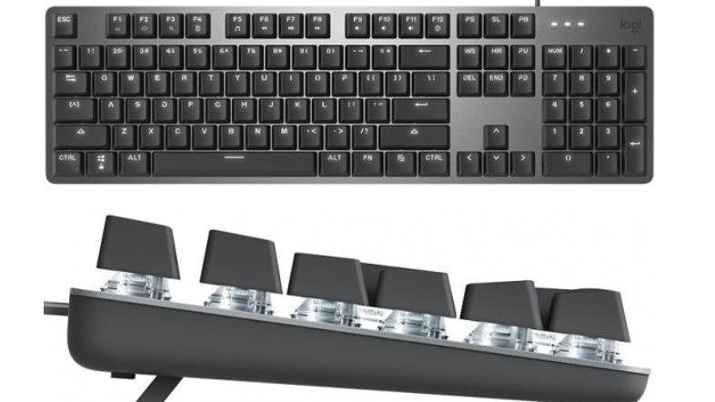 罗技机械键盘K845发布;雷蛇推出黑寡妇蜘蛛V3键盘