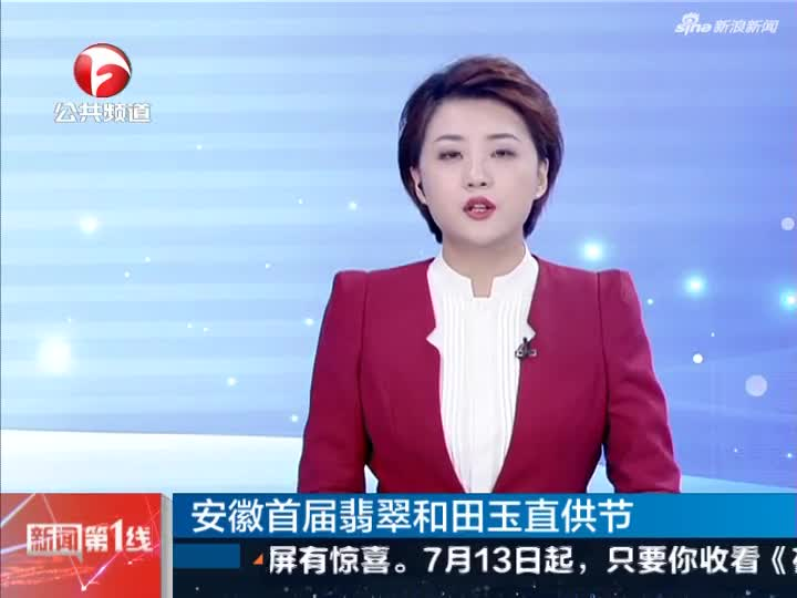 《新闻第一线》安徽首届翡翠和田玉直供节