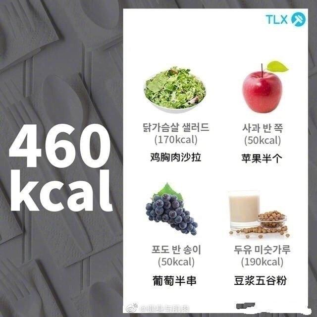 一组500卡路里内的健康减脂餐来一波