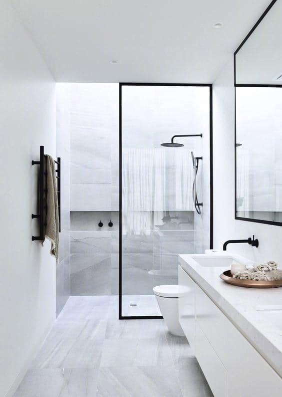 简洁明了的浴室设计,喜欢可以参考!