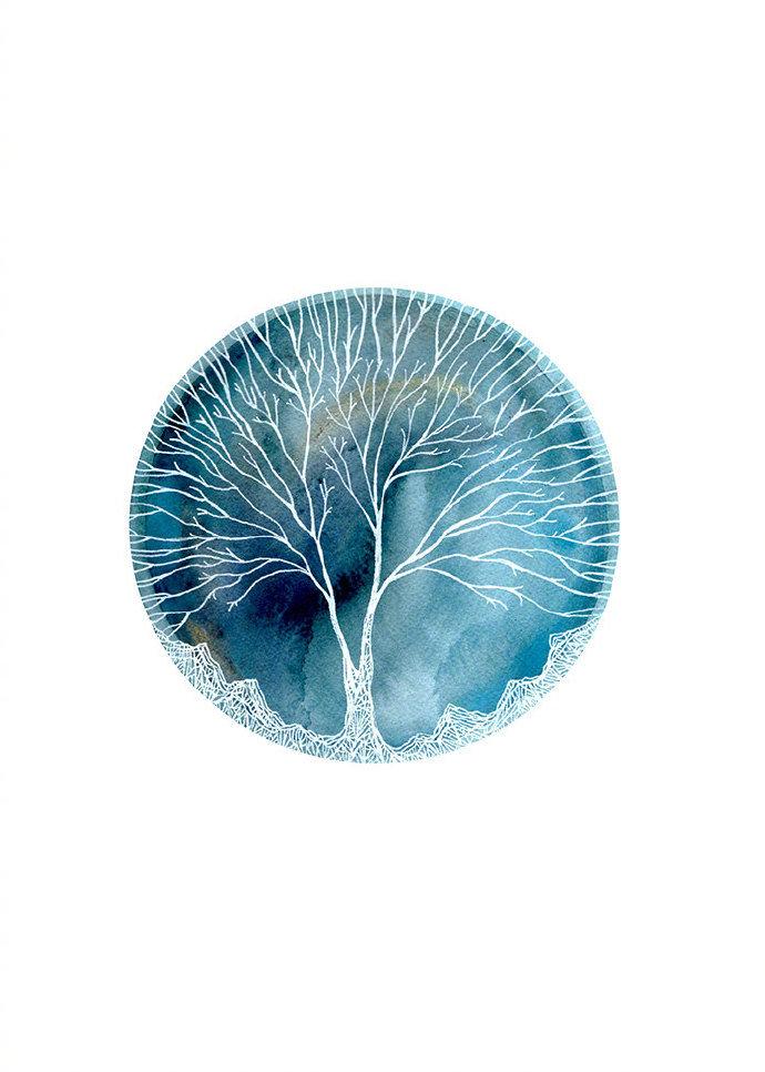 美国艺术家 Elise Mahan 受天文学和自然历史启发创作出来的一系列作