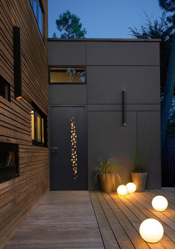 庭院景观设计丨灯光