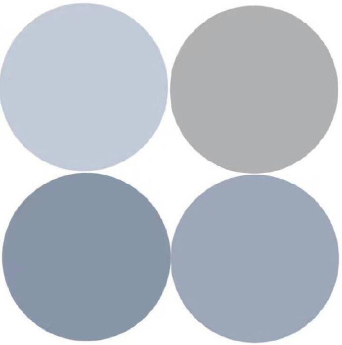 莫兰迪的高级灰色系