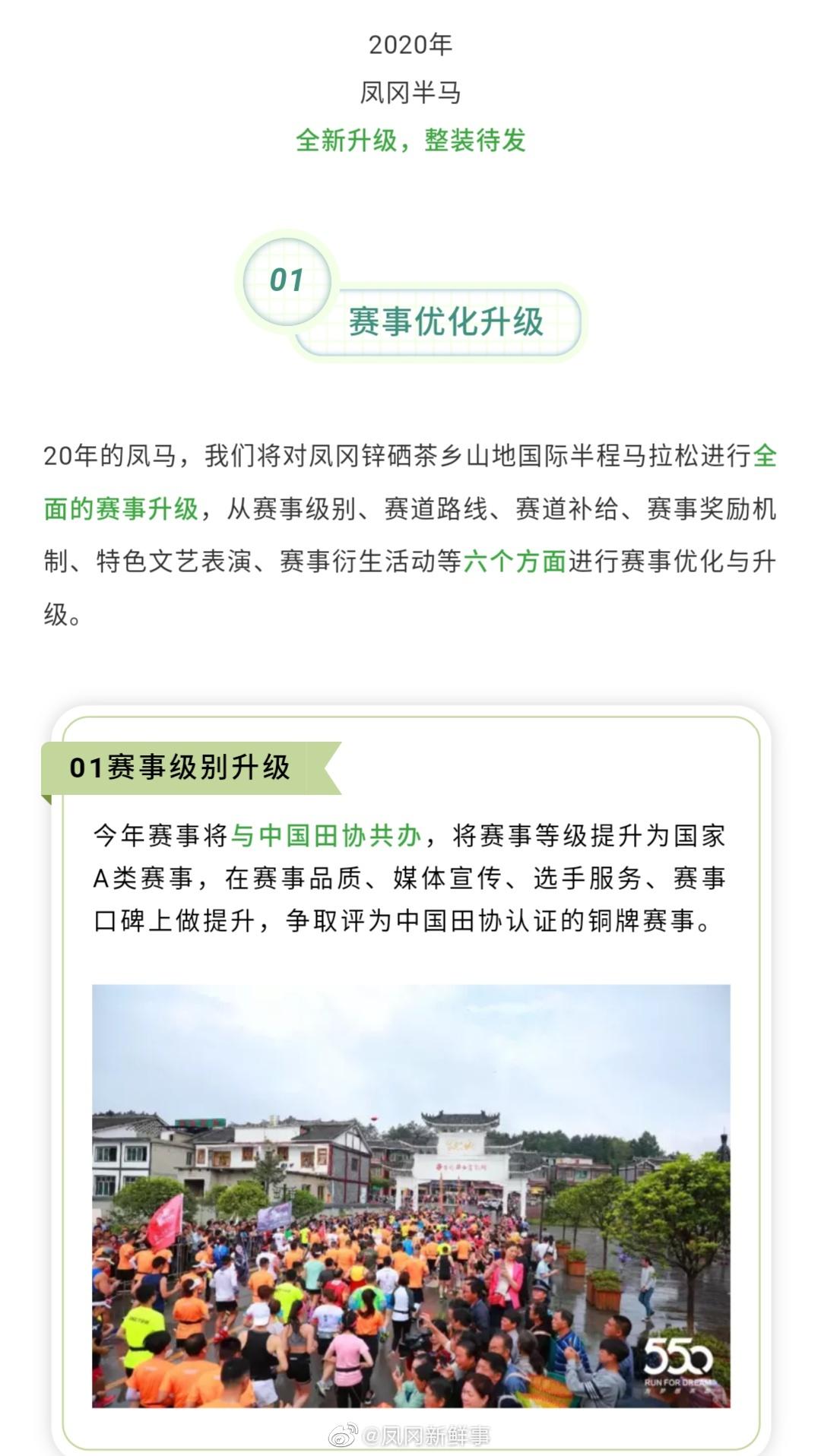 2020贵州·凤冈锌硒茶乡山地国际半程马拉松赛来啦