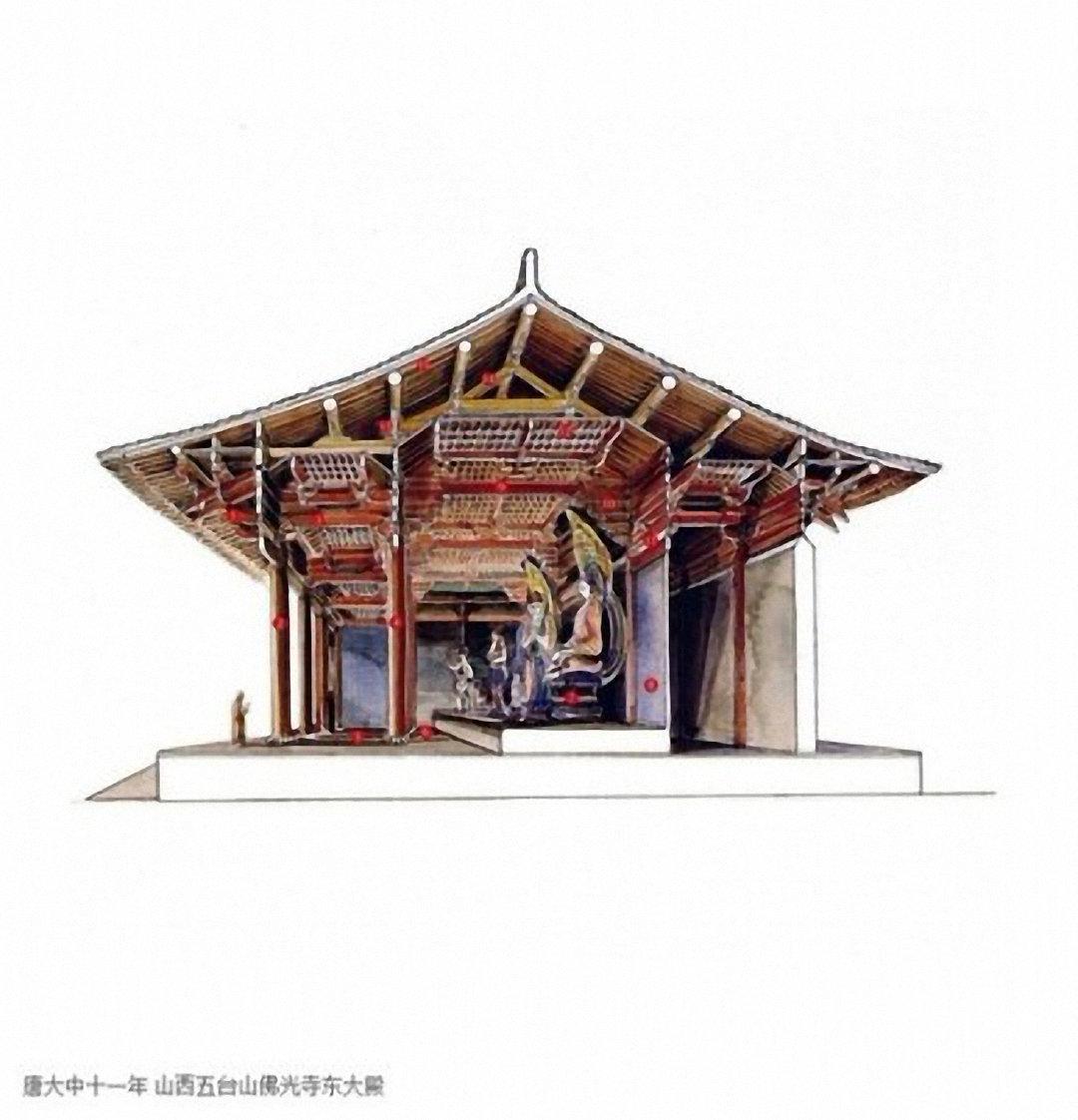 剖视中国经典古建筑丨李乾朗