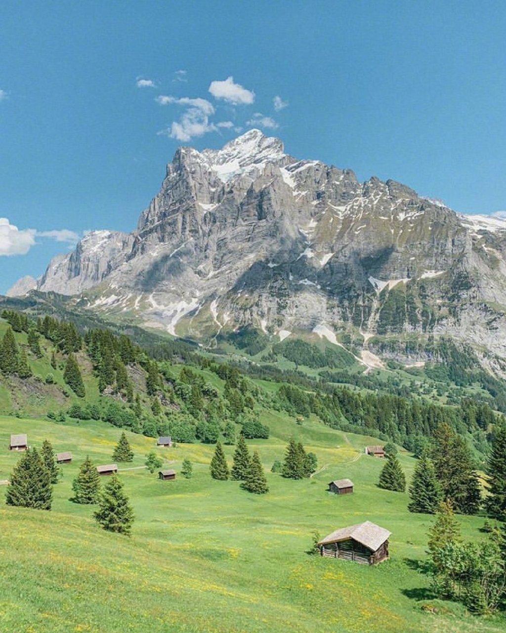 一大夏天,总是按耐不住去瑞士山谷转悠转悠的心。