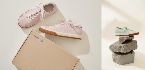 ROTHY'S推出全新系带时尚休闲鞋,踏出自由风范